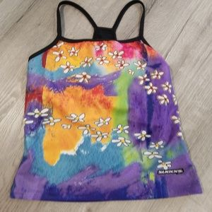 Sugoi shelf bra cycling tank top Medium